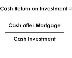 cash return on investment ratio