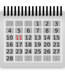 loan tenor calendar