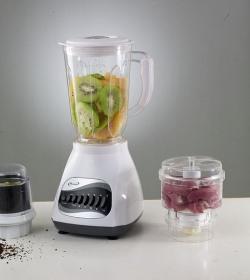 modern juicer blending into kitchen design