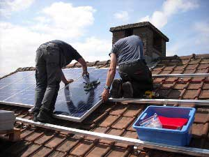 More homes are installing their own solar panels these days